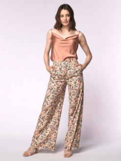 Pantalonul Life in Colors - Peach