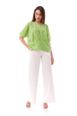 Bluza Plise Green