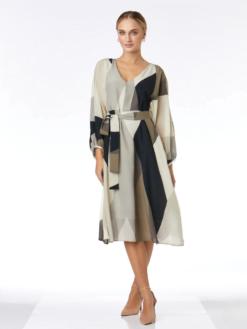 rochie mătase naturala