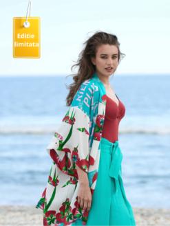 Kimonoul din Matase Summer Breeze